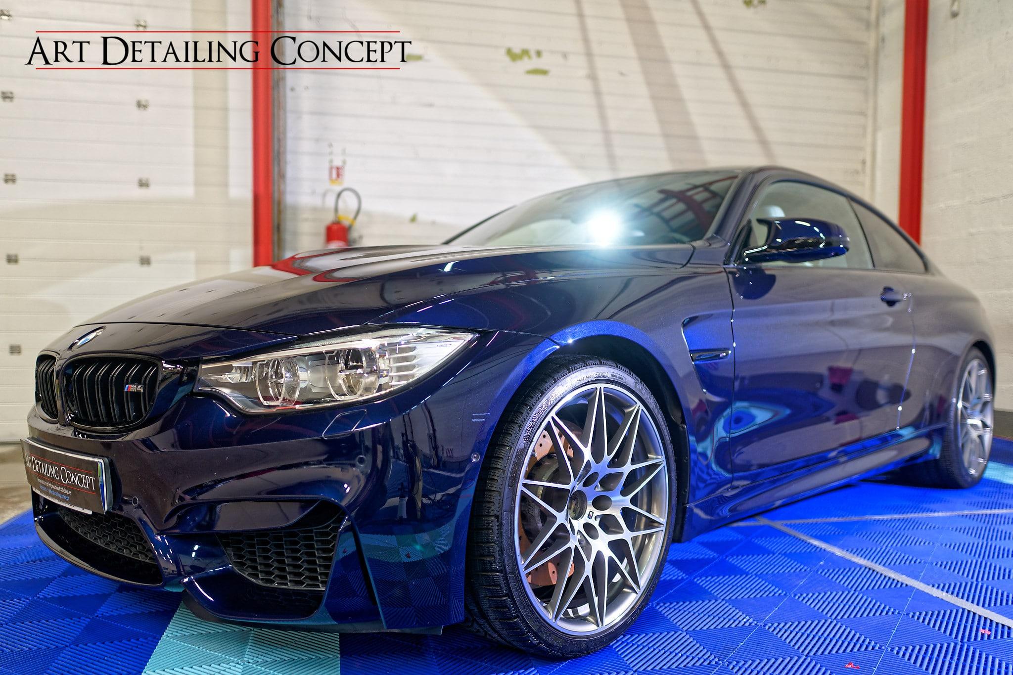 Polissage BMW M4 avant