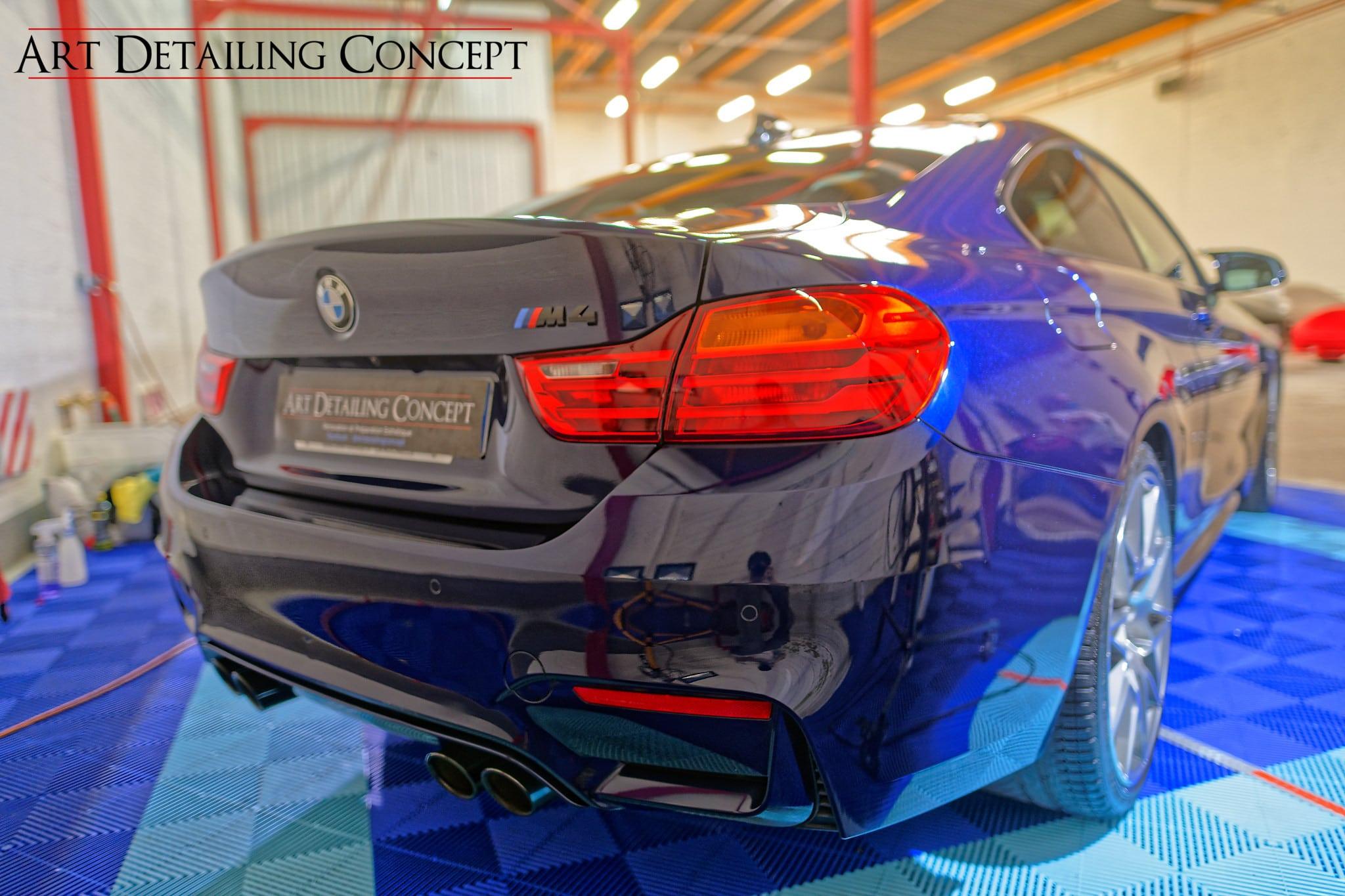 polissage BMW M4