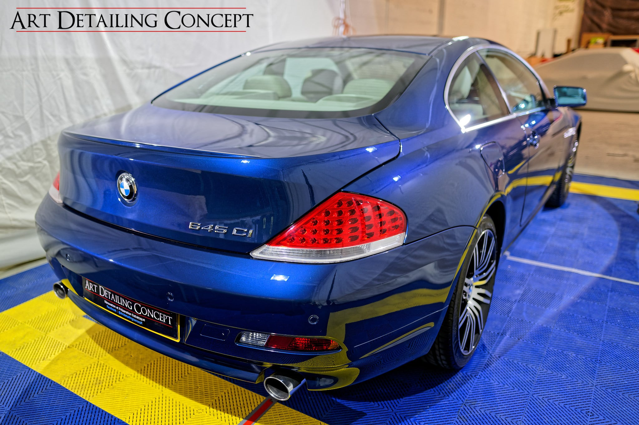 Detailing BMW 645 CI