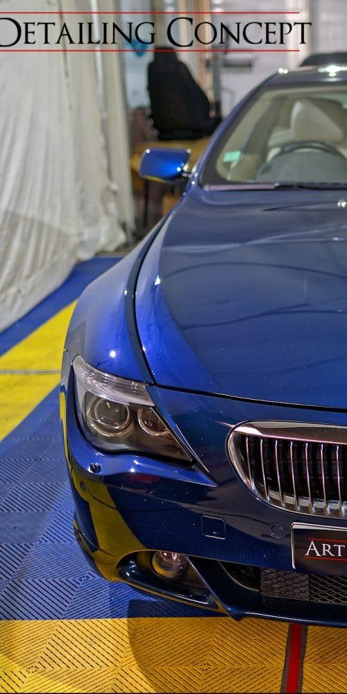 detailing BMW avec céramique